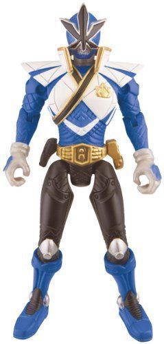 """Power Ranger 4inch Figure Super Mega Ranger Water by Power Rangers. $11.99. Power Ranger 4inch Figure Super Mega Ranger Water. Ranger includes a battle gear accessory giving it power to protect earth!. Power Rangers 4"""" Action Figure. This figure is the perfect addition for collectors and kids alike!. Rangers Helmet displays their unique Power element, discover the Power of each figure!. From the Manufacturer                This 4 inch Power Rangers action figure has a slee..."""