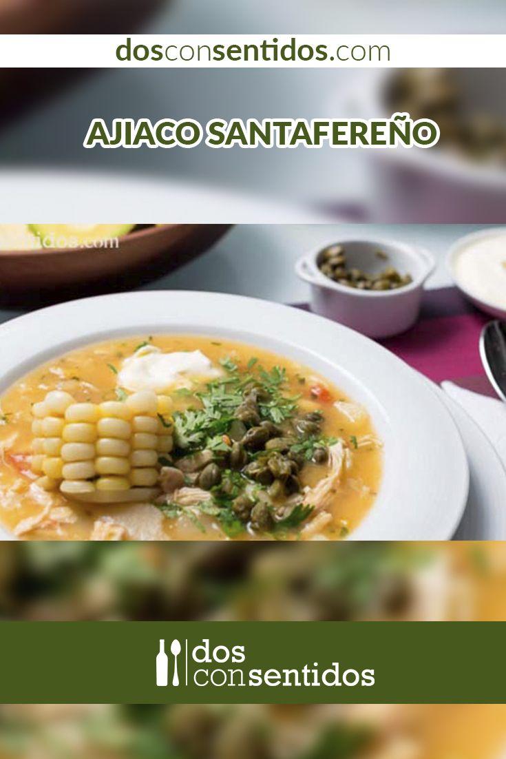 Se conoce como ajiaco a ciertos platos típicos de América Latina; la mayoría consisten en una sopa o guiso, acompañada de tubérculos y algún tipo de carne, y en algunos países el plato es acompañado con ají. En el diccionario Indio de la gran Tolima, se encuentra la palabra ajiaco, con su significado: especie de sancocho con condimento de ají, y sostiene que su etiología está basada en la palabra del taino axi.