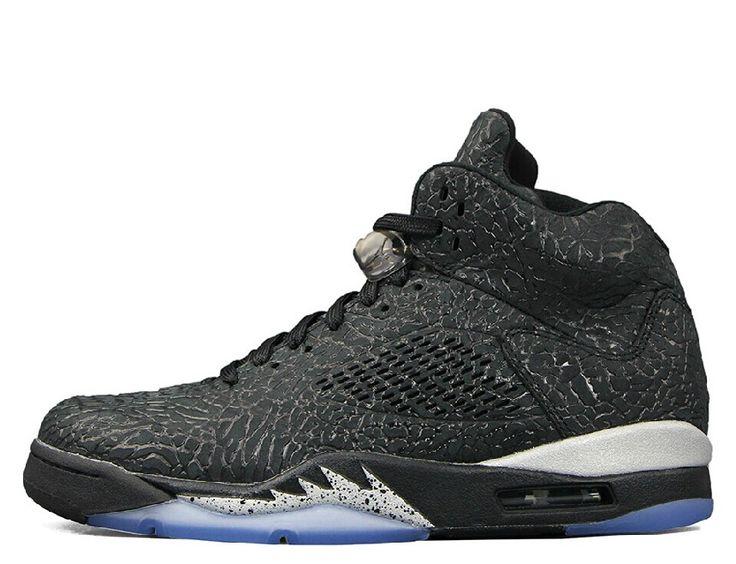 Air Jordan 5 3lab5 Black Metallic Silver - $ 129.99 USD http://www