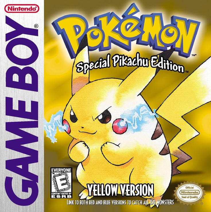 Amazon.com: Pokémon Yellow Version - 3DS [Digital Code]: Video Games