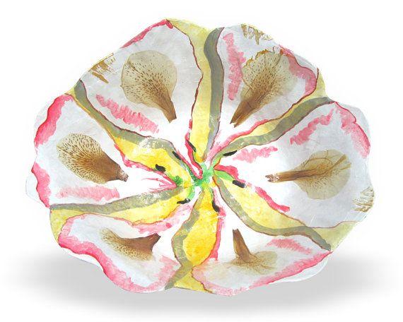 Ciotola di fiori astratti. Ciotola di carta di PaperPrezzies
