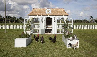 Neiman Marcus Big Christmas Book | Neiman Marcus' $100,000 heritage henhouse.Rare Russian Faberge laying chickens.