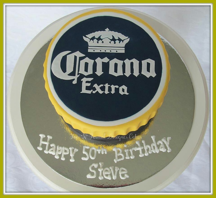 Corona cake. Brilliant!