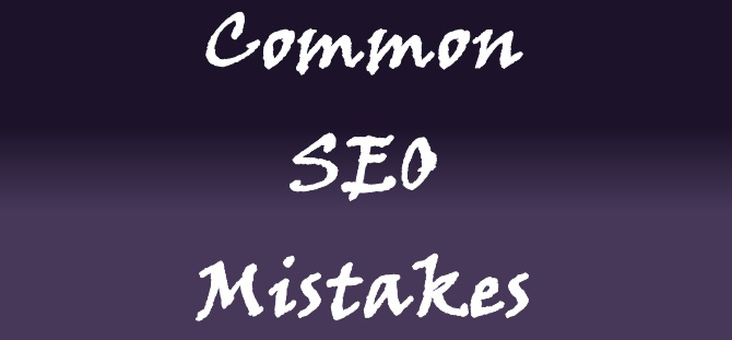 Top 5 Most Common SEO Mistakes