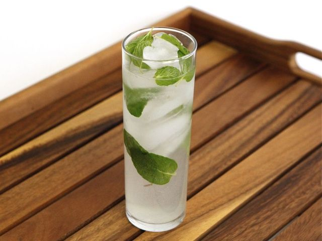 Shortcut Mojito - This was good using the mint simple syrup versus ...