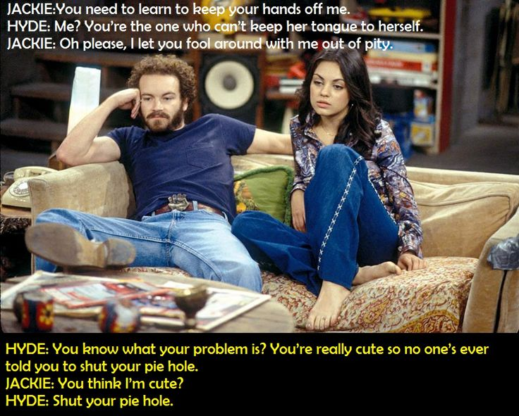 Humor-TV-Comedy-That 70's Show-Hyde & Jackie