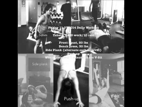 Friday 11.07.2014 Daily Workout