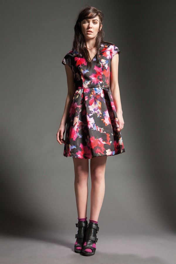 Naughty Dog FW15 flower print dress