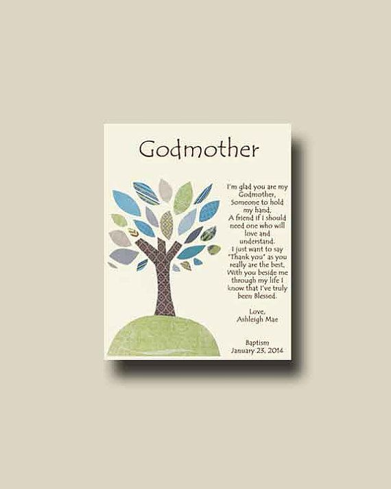 Godmother Wedding Gift: Godmother Gift Personalized Gift For Godmother By