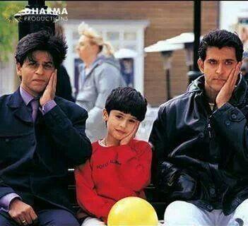 Shahrukh Khan and Hrithik Roshan