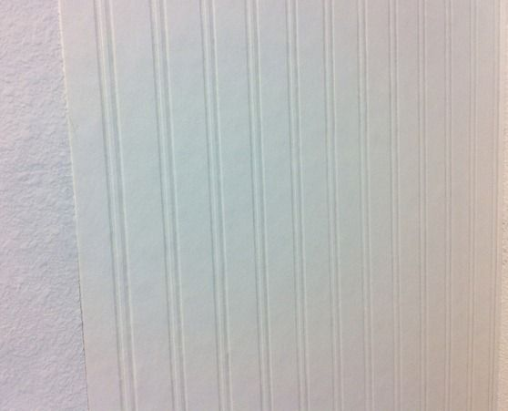 Installing Beadboard Wallpaper Rv Decor Ideas Bathroom