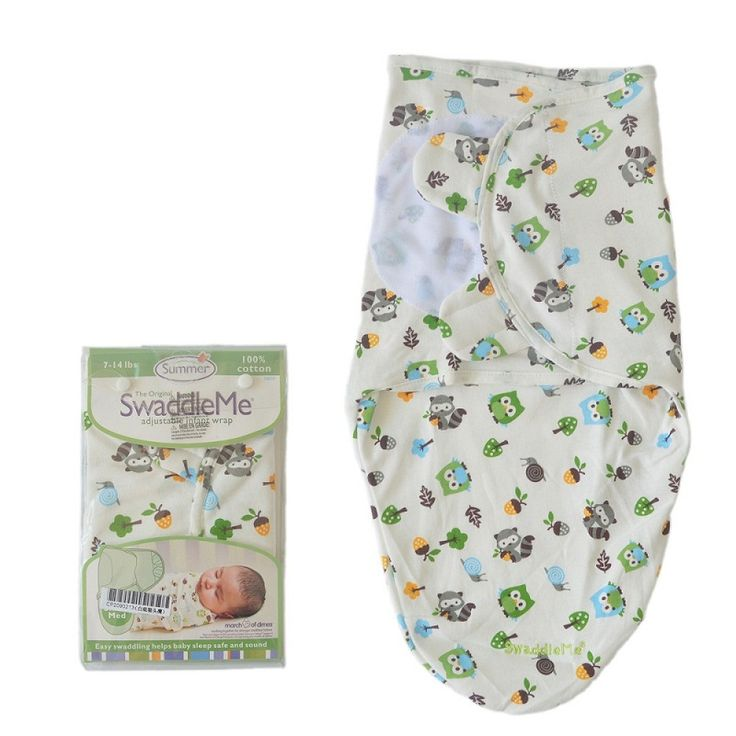 Baby Swaddle Wrap summer thin envelopes for newborn Baby Blanket Swaddling 100% cotton Sleeping Bag Sleepsack Infant Bedding