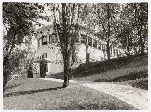 Lars Backer – A Pioneer of Norwegian Modernism,Lars Backer, Restaurant Skansen, 1927. Image © Ukjent (Nasjonalmuseet)