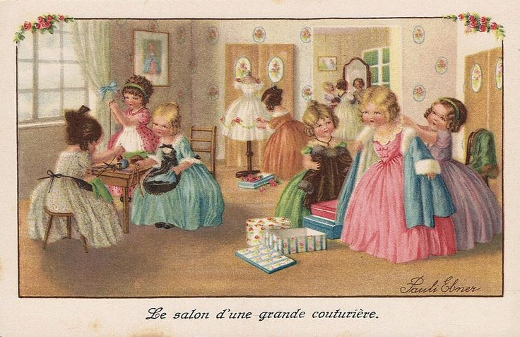 Pauli Ebner (1873-1949) — Old Post Cards  (950x616)