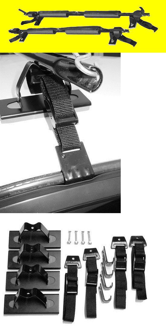 Car Racks 114254: Block Hard Surfboard Roof Rack Car Automobile Truck Van Surfer Hook Strap Tie BUY IT NOW ONLY: $119.0