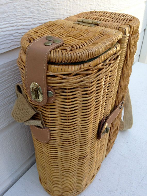 Myer Wicker Picnic Basket : Wicker wine picnic basket posts wedding and picnics