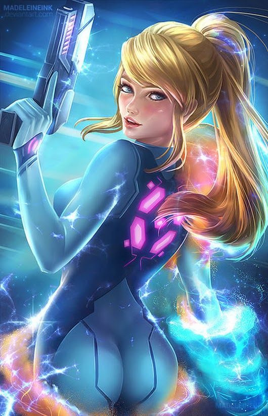 Samus Aran from Metroid in her Zero Suit. | Videogame ...