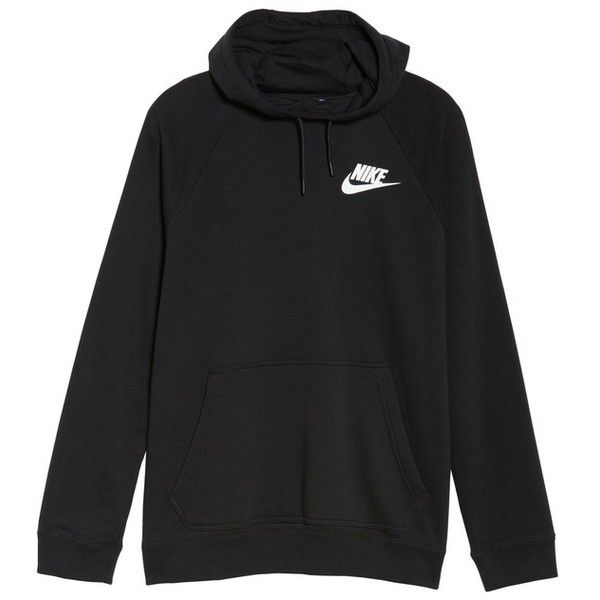 Plus Size Women's Nike Rally Hoodie ($60) ❤ liked on Polyvore featuring pl... 2