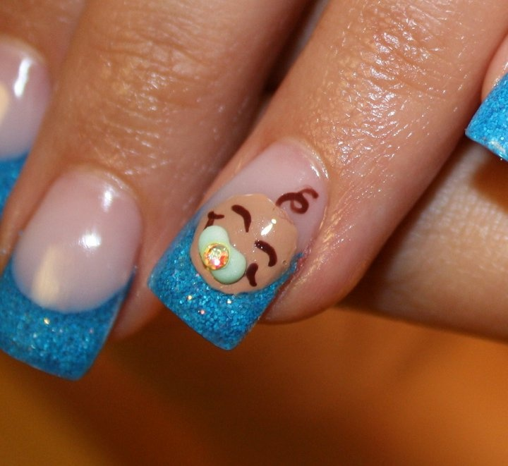 26 Best Images About Nail Art Baby On Pinterest: 20 Best Baby Shower Nail Art Images On Pinterest