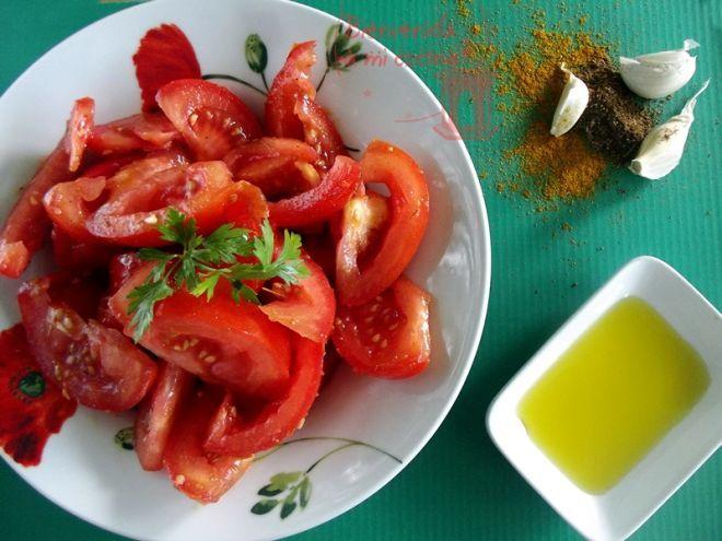 Receta Entrante : Ensalada marroquí de tomates aliñados por Duniasantiago