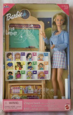 Barbie Sign Language Doll:Amazon:Toys & Games