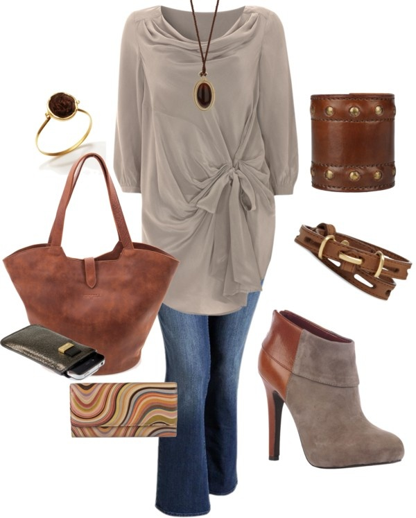 """""""Tunic - Plus Size Fashion"""" by aracely26 ❤ liked on Polyvore"""