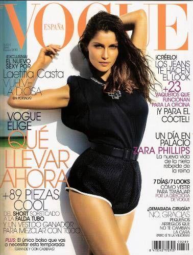 Laetitia Casta in Balenciaga e Lanvin su Vogue Spagna di aprile