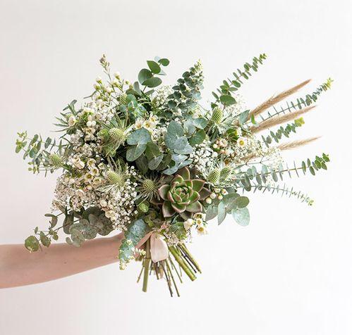 Le bouquet de mariée Bergamotte x Laure de Sagazan