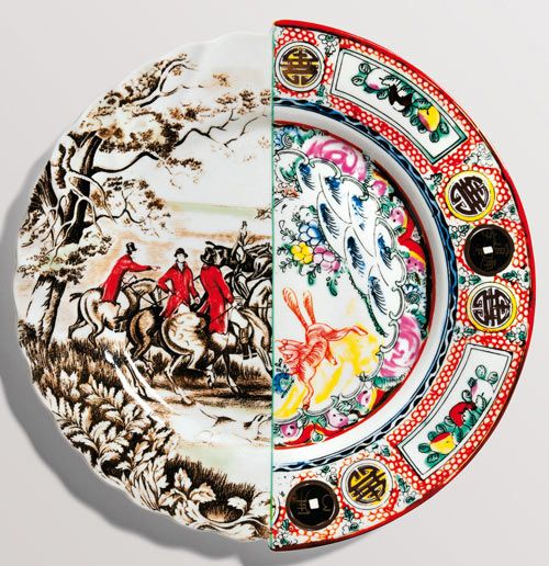 New home collection from Seletti. This is a single plate.