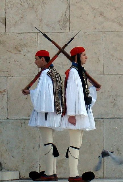 Changing of the Guards - Athens, Greece