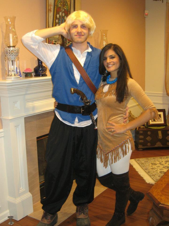 john smith and pocahontas costume halloween costumes