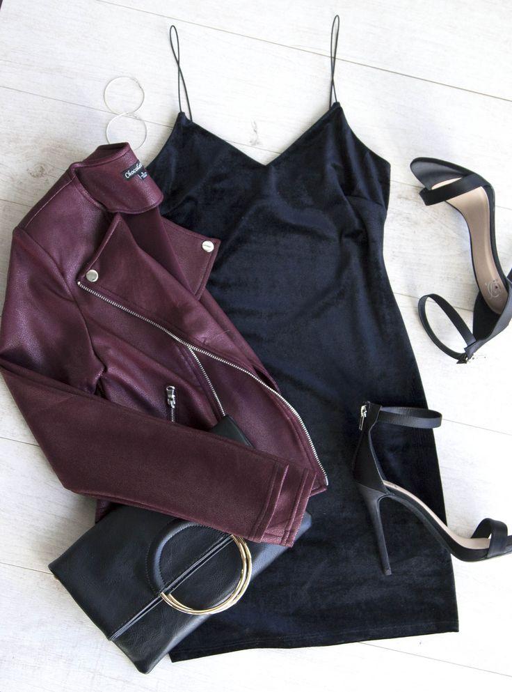 Aleah Dress - Black Velvet #lovepriceless
