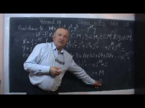 Lectia 132 - Rezolvam subiecte de la olimpiada de matematica la clasa V ...
