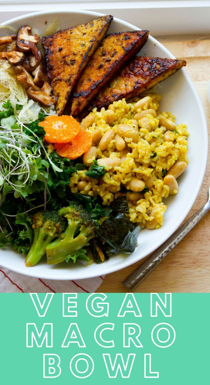 Vegan Macro Bowl Healthyhappylife Com Vegan Meal Plans Macro Meals Macro Meal Plan