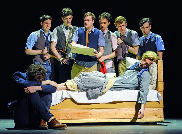 A Pál utcai fiúk Vígszínház- Nemecsek halála