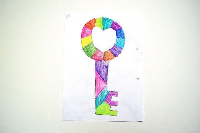 Jul & Joy!: Key To Mom's Heart