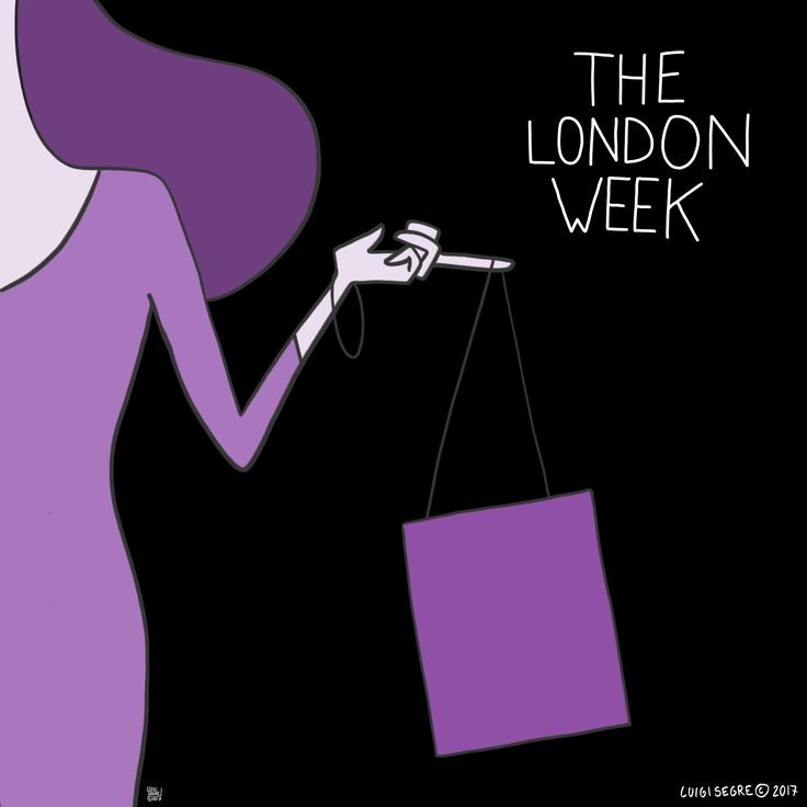 "The London Week by Luigi Segre Daily Comics from ""The City"", Handmade by Luigi. Everyday from 2PM. Free."