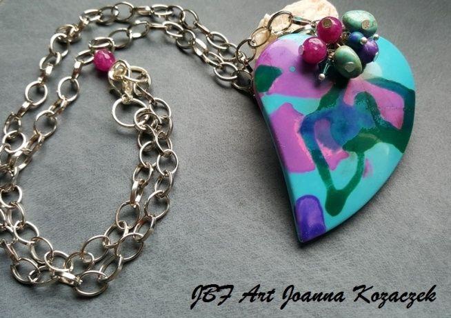 Heart pendant - JBF Art