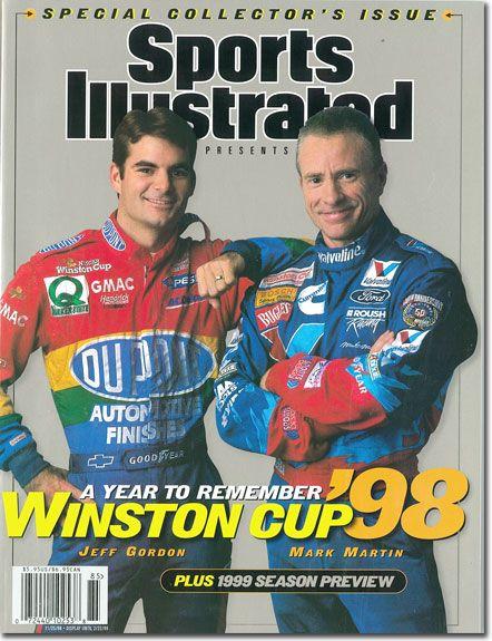 Jeff Gordon 1998 SI cover