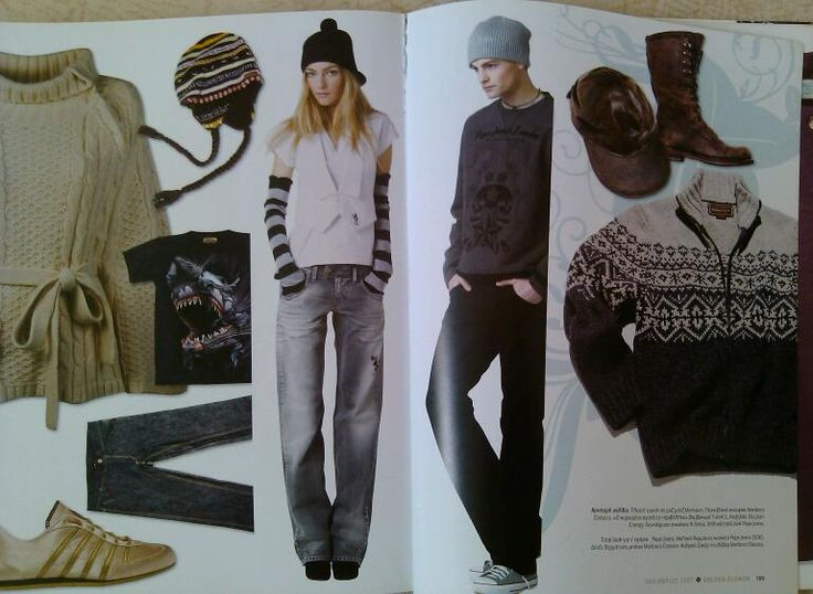 fashion on the pages of GOLDEN FLOWER MAGAZINE - GREECE