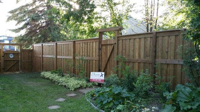 42 best fence designs images on pinterest fence design for Brown treated deck boards