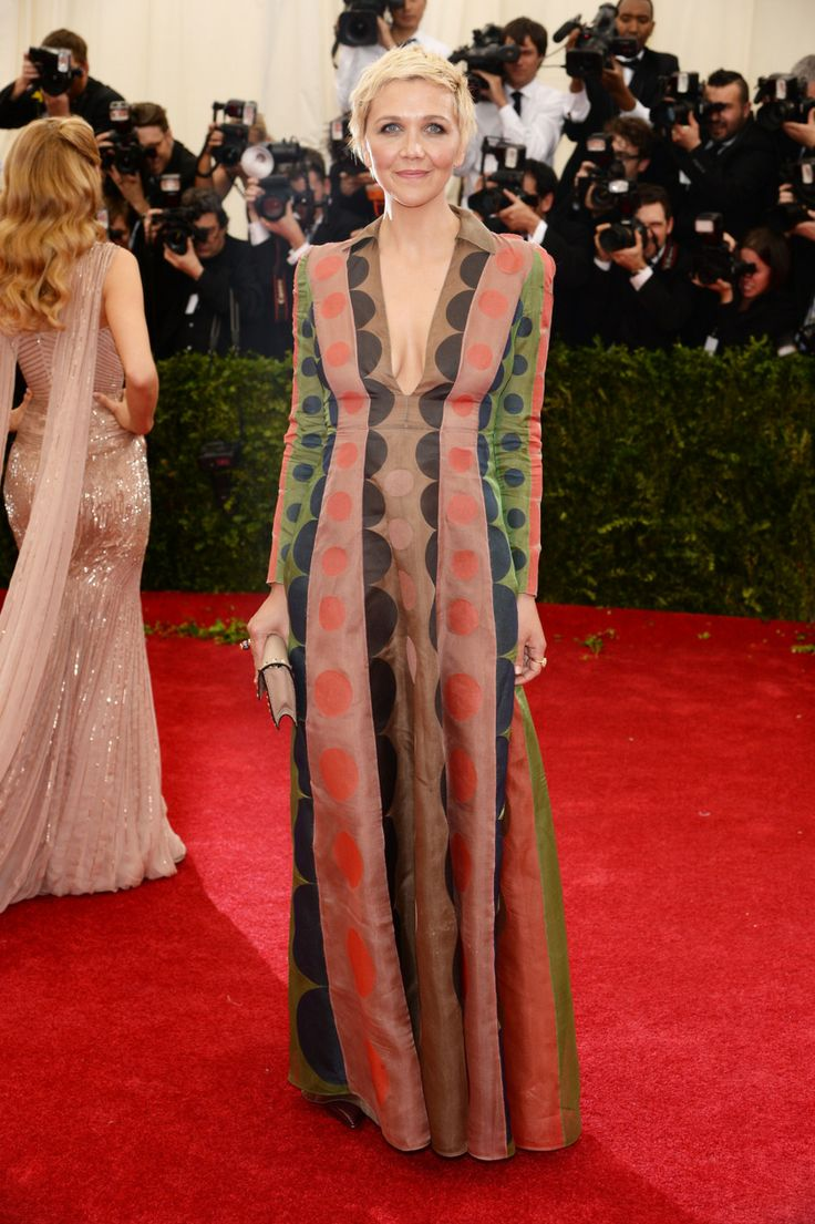Whatever. I like this and love her and I don't care what anybody says. Best Repurposed Ikea Sheets: Maggie Gyllenhaal