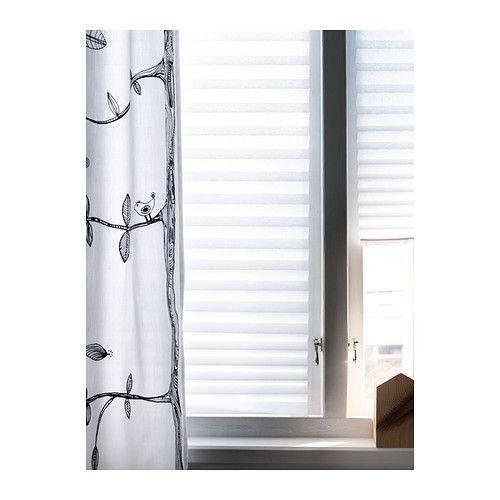 4$ !! SCHOTTIS Store plissé IKEA Se fixe facilement et sans perçage au cadre de la fenêtre. Peut être facilement coupé à la taille désirée.