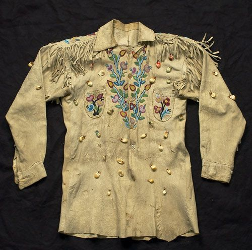 Cree+Jacket+Decorated+with+41+Elk+Teeth,+(2004,+American+Indian+Art+Auction+/+Sept+18-19)