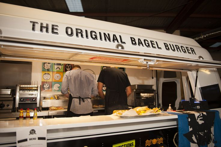Food Truck - Private Function #roundtheway #foodtruck #melbourne #bagel #bagels
