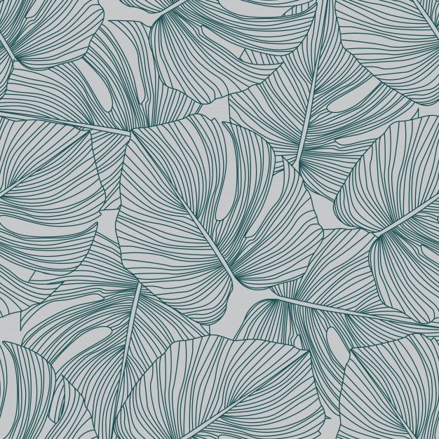 AS Creation ESprit Flower Pattern Wallpaper Designer Palm Leaf Embossed Motif