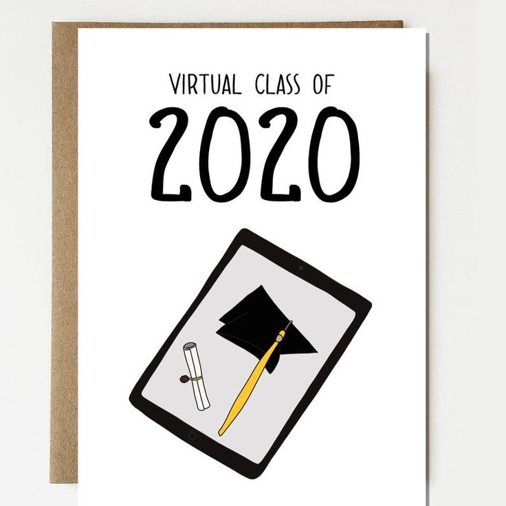 Funny virtual class of 2020 graduation etsy in 2020