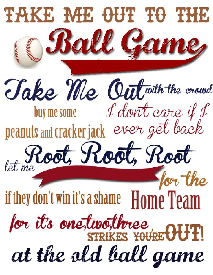 take me out to the ball And actor, not a singer and maybe that's what it was going to take for someone  other than harry caray to nail take me out to the ball game.