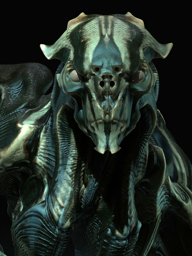 Neville Page: From Page to Screen | Gnomon | Creature ... |Super 8 Alien Design