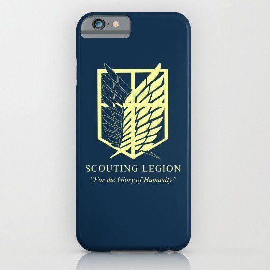 Attack on Titan - Scouting Legion iphone case, smartphone